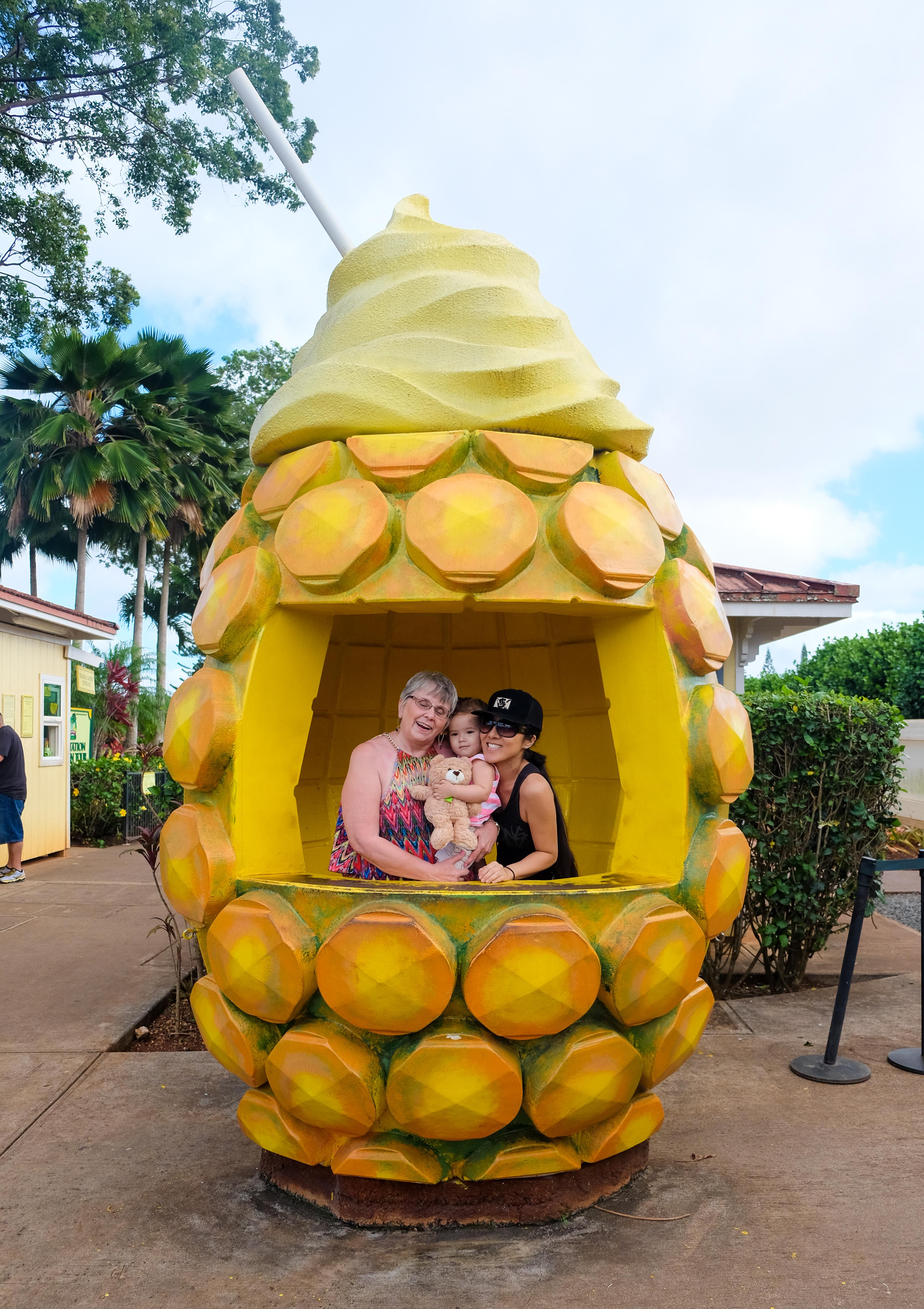 Fun at the Dole Plantation, Oahu, Ohana Circle Island Tour