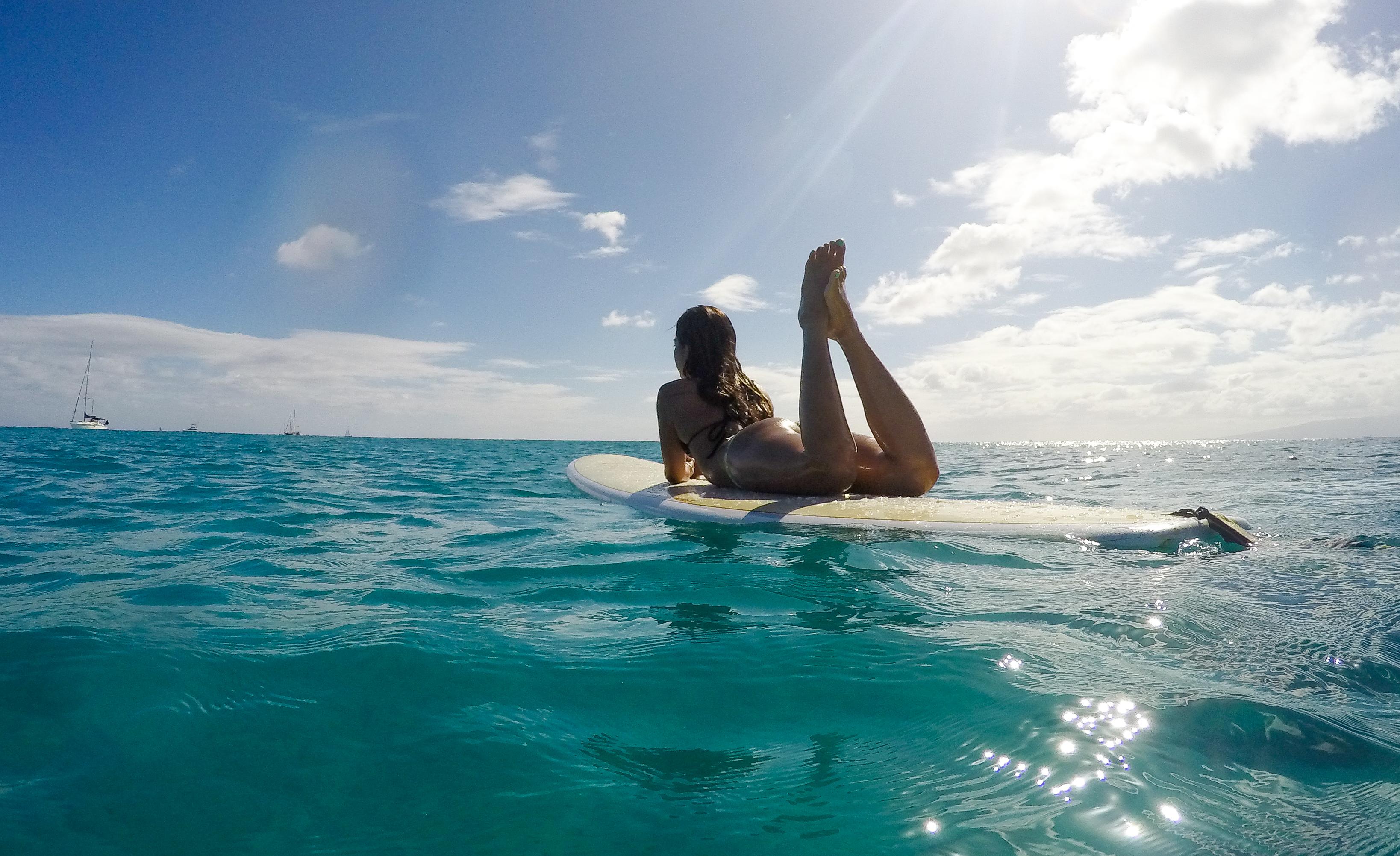 Waikiki Surfing, Oahu, Ohana Circle Island Tour